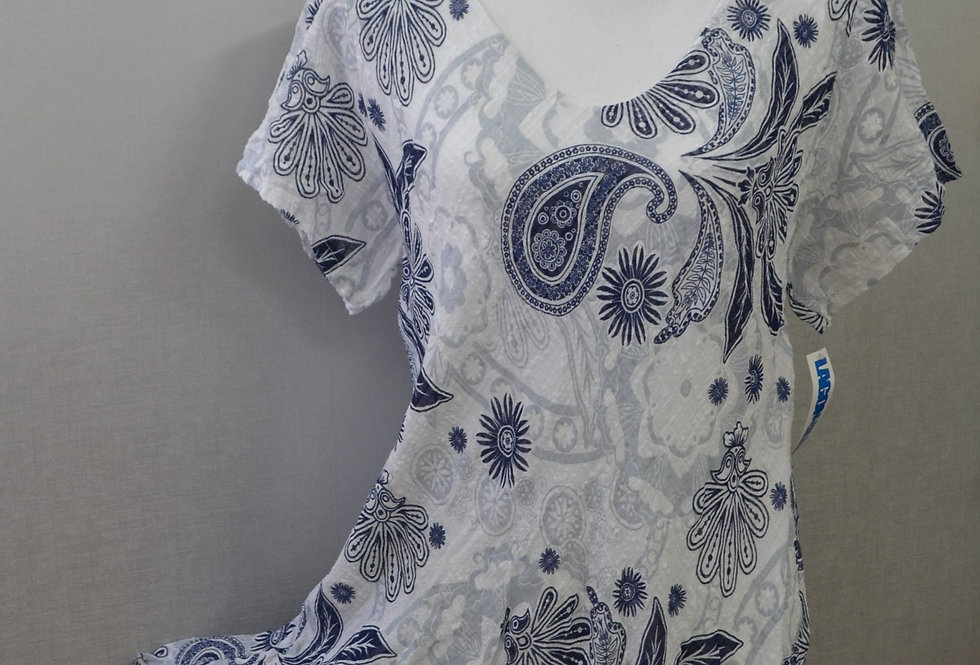 Robe LAGON BLEU 03/85