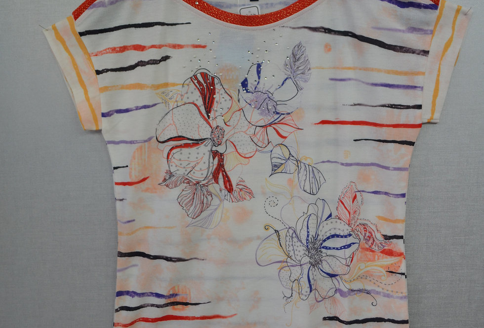 "Tee-shirt  ""FRONT DE MER""  03/43"