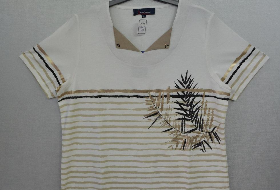 "Tee-shirt  ""FRONT DE MER"" 03/20"