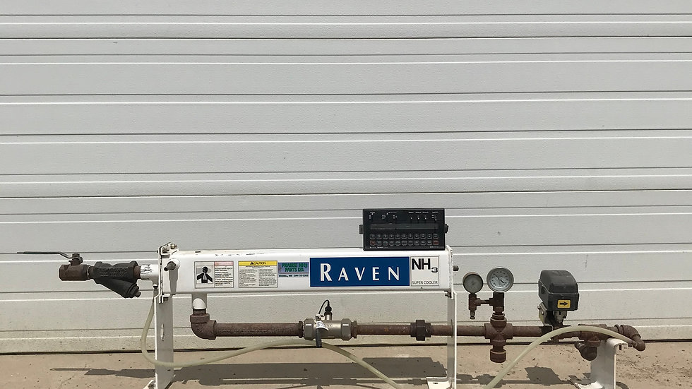 Used Raven Accuflow 30 GPM Cooler Single Valve With 440 Console