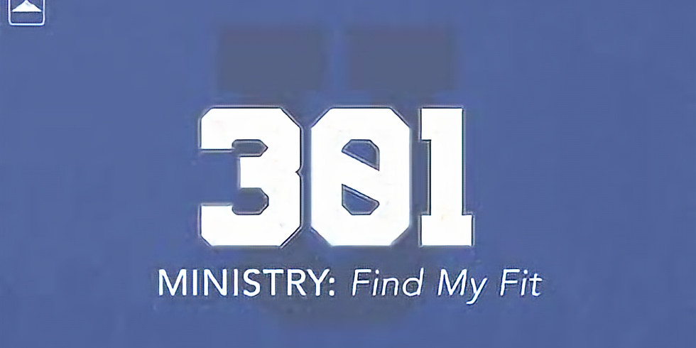 Ministry 301 Finding Your Fit