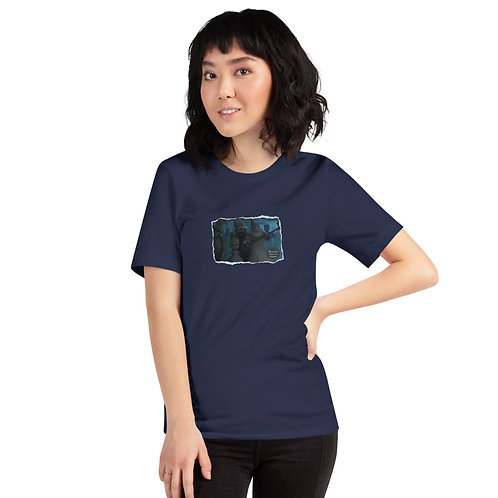 Adult Unisex T-Shirt - Mia and the Curse of Camelot (The Cursed Statues)