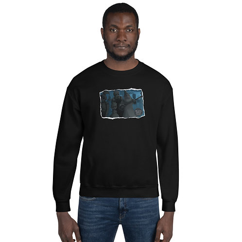 Adult Unisex Sweatshirt - Mia and the Curse of Camelot (The Cursed Statues)