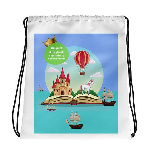 Drawstring bag - Magical Storybook