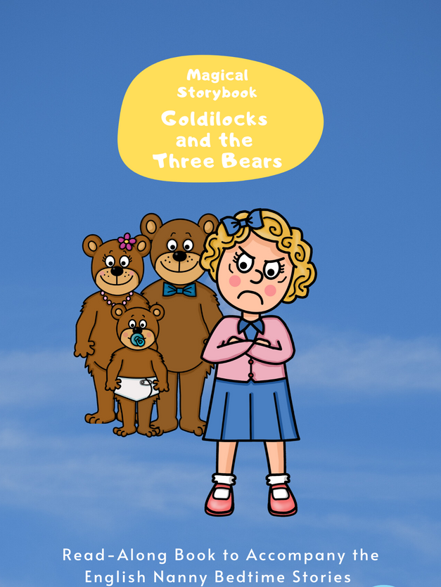 Goldilocks and the Three Bears Read-Along e-book for Magical Storybook podcasts
