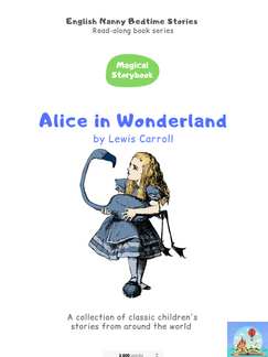 Alice in Wonderland Read-Along book.