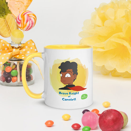Mug with Colour Inside - Mia and the Curse of Camelot (Sir Morien)