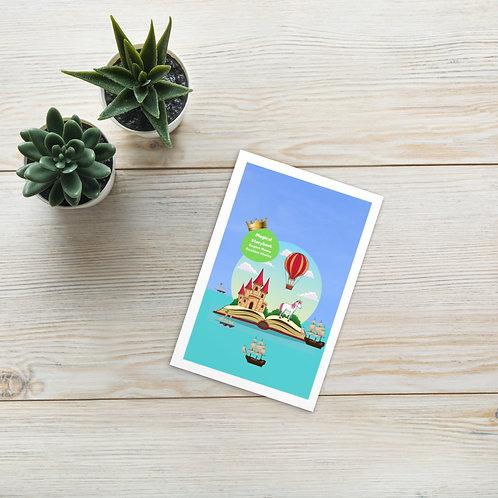 Standard Postcard - Magical Storybook