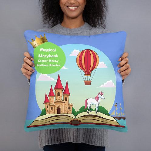 Magical Storybook English Nanny Bedtime Stories Basic Pillow