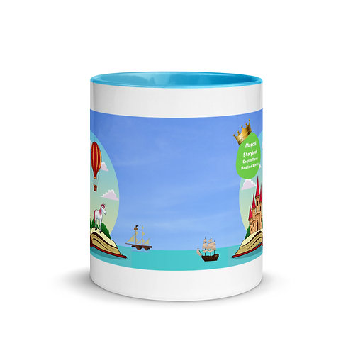 Magical Storybook Mug with Colour Inside