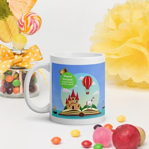 Magical Storybook White Glossy Mug