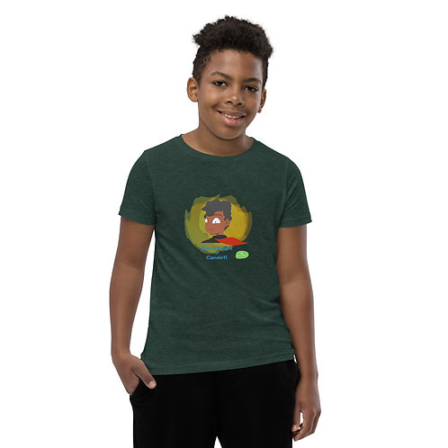 Youth Short Sleeve T-Shirt - Mia and the Curse of Camelot (Sir Morien)