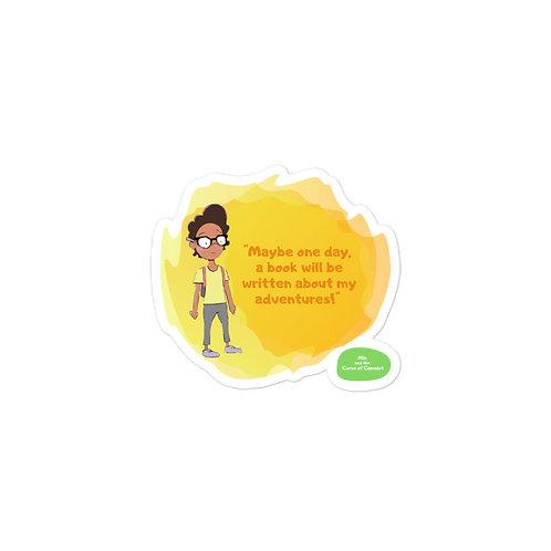 Bubble-free stickers - Mia and the Curse of Camelot (Mia)