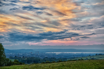 'Lisnabreeney Sunset' by Jonny Clark ( 9 marks )