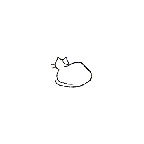 Backside of Cat