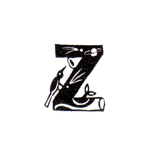 Bird Alphabet - Z