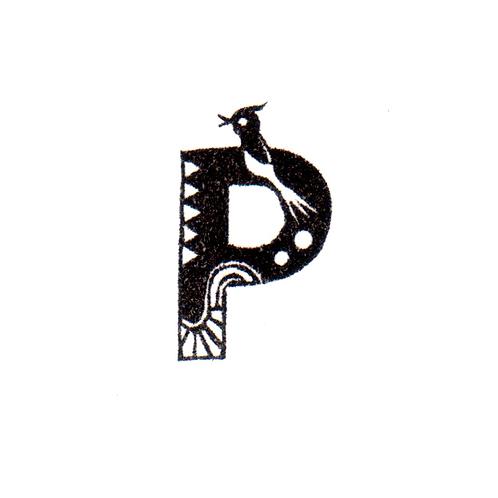 Bird Alphabet - P