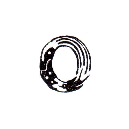 Bird Alphabet - O