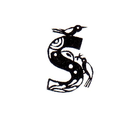 Bird Alphabet - S
