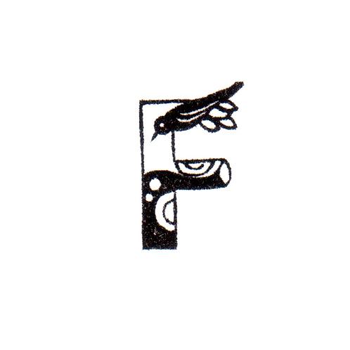 Bird Alphabet - F