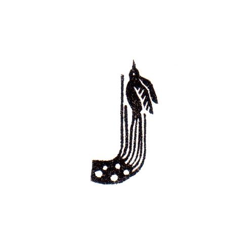 Bird Alphabet - J