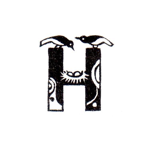 Bird Alphabet - H