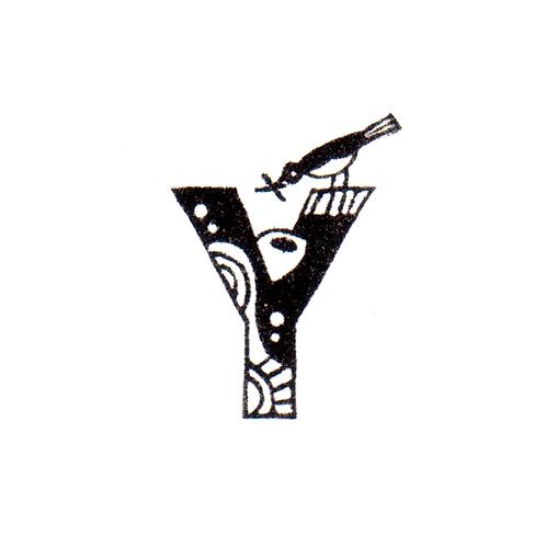 Bird Alphabet - Y