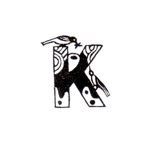 Bird Alphabet - K