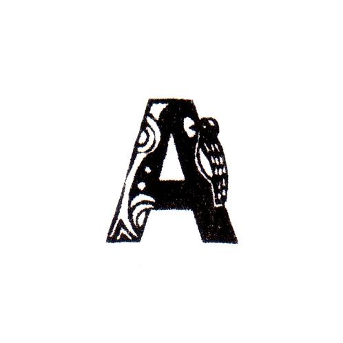 Bird Alphabet - A