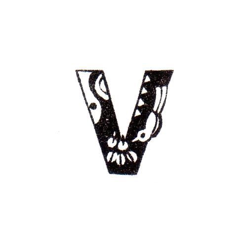 Bird Alphabet - V
