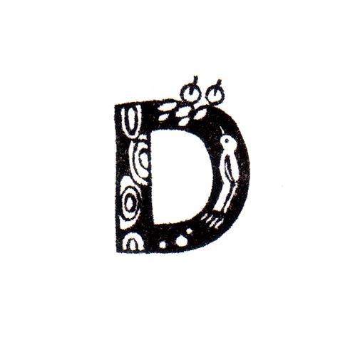 Bird Alphabet - D