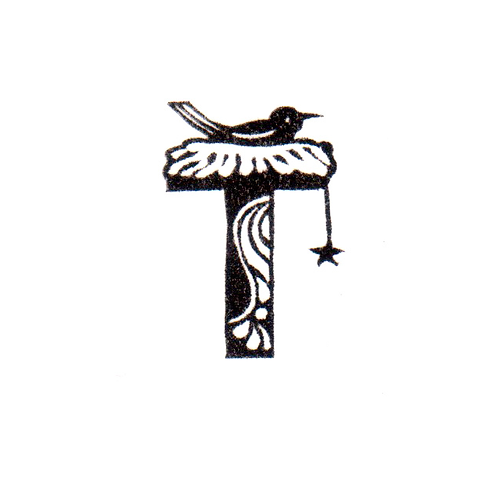 Bird Alphabet - T