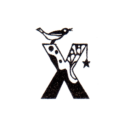 Bird Alphabet - X
