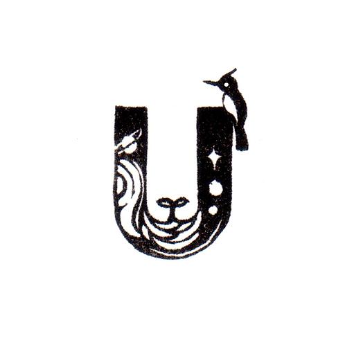 Bird Alphabet - U