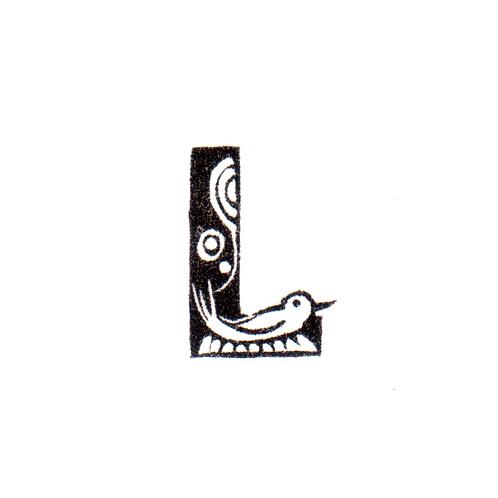 Bird Alphabet - L