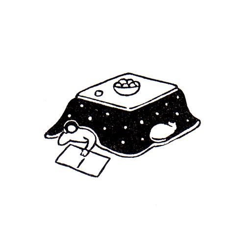 Kotatsu with Cat