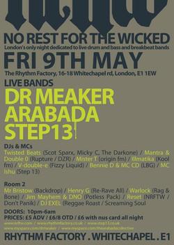 NRFTW Dr Meaker, Arabada, Step 13