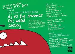 NRFTW DJ VS DRUMMER, FAT HABIT, ZEJ