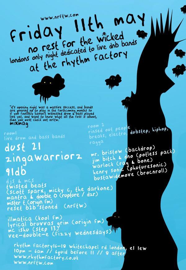 NRFTW Dust 21, Zinga Warriors, 91DB