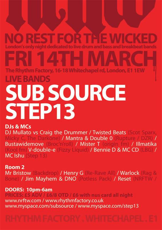Subsource & Step 13