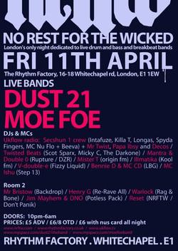 Dust 21 and Moe Foe