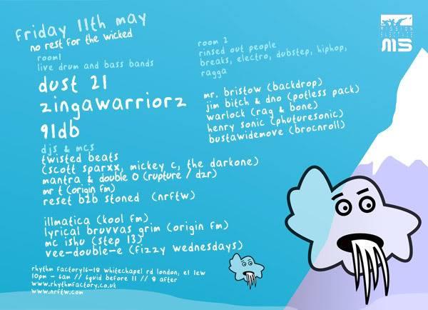 Dust 21, Zinga Warriorz, 91DB