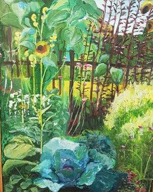 8. Summer Garden I - Jardin d'Eté I