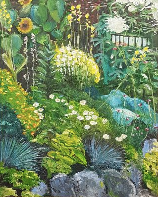 9. Summer garden II _ Jardin d'Eté II