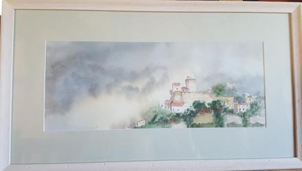 18. Castle and mist - Château et Brume