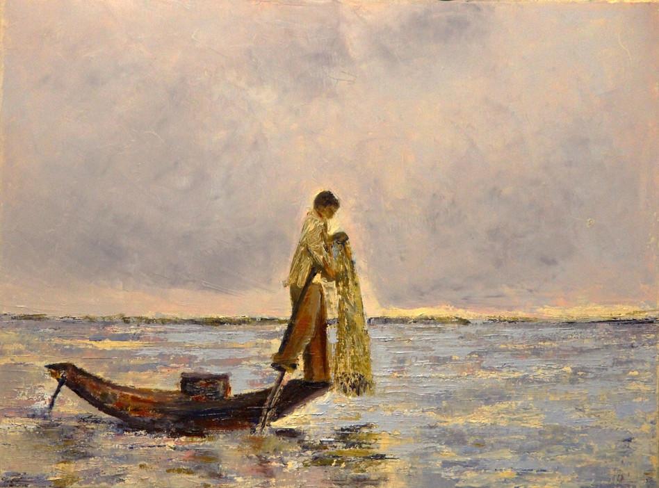 165. Pêcheur Birman