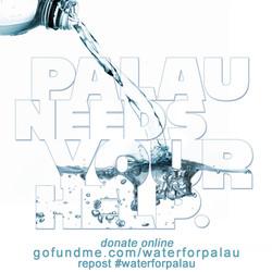 palau drought water