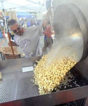 on site popcorn