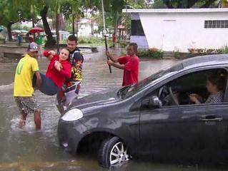 APAC emite novos alertas de chuva em Pernambuco em menos de 12h