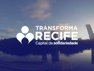 Conheça a plataforma Transforma Recife, seja um voluntário!